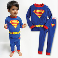 100% cotton 1pc retail 2-7 years baby sleepwear clothes for babies baby cotton clothes clothing set children