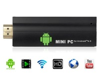 T004 Mini PC Android 4.0.4 TV Box Single Core TV Stick Dongle 4GB HDMI Media Player Allwinner A10S