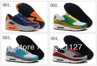 20 Colours Free Shipping  90 Max Hyperfuse Suede Women's Running Sport Footwear Sneaker Trainers Shoes ( 1 - 20 Colours )