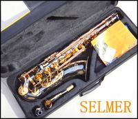 Salma 54 b selmer tenor saxophone musical instrument electrophoresis gold professional