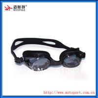 Anti-fog swim goggles with designs