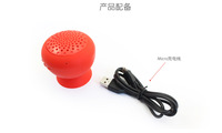 Top Sale Hight Quality Portable Cute Silicon Bluetooth Wireless Speaker  Free Shipping