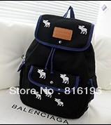 Fashion style nice looking school bag student backpack free shipping