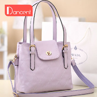Fashion ol 2013 bag dimond plaid vintage bucket bag women's messenger bag fashion handbag