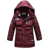Brand New Boys Outerwear Coats Kids Down jacket Children's Winter down Coat free shipping 2014 Girls Warm Jackets