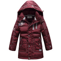 Free Shipping 2013 New Design Winter Children Coat For Boys Waterproof 80% Duck Down