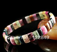 Free Shipping wholesale  2013 New  square fashion bracelet for women jewelry For Women High quality crystal bracelet gemstone