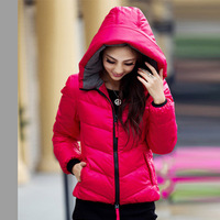 2013 autumn and winter down coat Women short design slim brief women's down coat