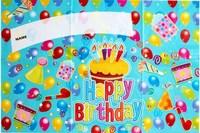 Min order is 10usd !! Cheap !!! Birthday wallpaper birthday supplies happybirthday