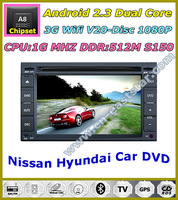 Android Car kit dvd player for Nissan Qashqai X-trail Patrol Tiida Altima Navara Paladin Sentra Livina Micra Sunny 1212
