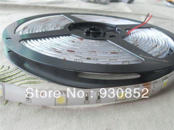 waterproof IP65 FPC+Epoxy soft type led 5050 warm white /RGB strip 5m 150leds ex factory price wholesale goods(China (Mainland))