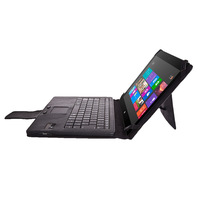 Bluetooth Keyboard Cover Case for Microsoft Surface RT / Surface Pro  2 10.6 inch HD Windows 8 / RT Tablet, BLACK