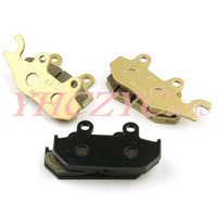 Free shipping Fit Suzuki AN250 Burgman250 Skywave250 2007-2009 front and rear brake pads set