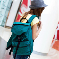 Toimend humpbacks canvas bag backpack fashion casual bag big student school bag man bag women's handbag