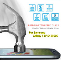 For Samsung I9500 Galaxy S IV S4 , Original Magic Premium Tempered Glass HD Film Screen Protector Anti-Fingerprint Ultrathin