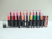 Freeshipping  20piece/lot Hight quality  Brand name  makeup Lipstick profession lipstick   20Colors