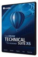 CORELDRAW TECHNICAL SUITE X6 SP1 32bit +64 bit for the full version / multiple languages