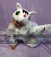 Child animal costume cartoon clothes whitecat style adult costumes