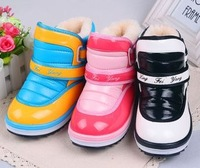 2013 child winter boots male female child infant child cotton-padded shoes children snow boots baby boots