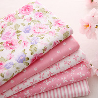 50*40cm New Baby Pink tilda doll cotton patchwork fabric set sewing cloth home textile for craft quilts 8pcs/lot freeshipping