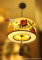 Classical chinese style sheepskin pendant light lamp project light