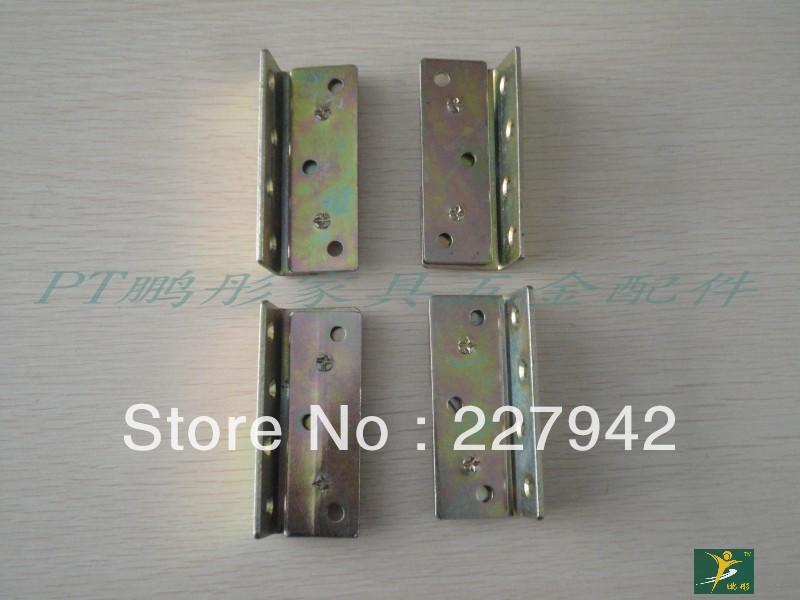 Iron bed furniture fittings stainless steel hinge angle bracket angle iron hardware partition Corner(China (Mainland))