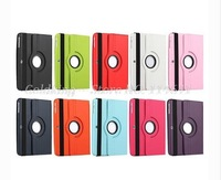 360 Degree Rotating Swivel Stand Magnetic PU Leather Case for iPad Air 5 Smart Cover Smartcover for iPad 5 50 pcs/lot