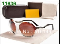 New Arrival  Black Sunglasses Designer sunglasses Women's Fashion Sunglasses Glasses in Beige Free shipping  -TBB 0287