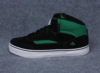 2013 autumn emerica skateboard shoes suede cowhide men's wear-resistant shoes medium cut