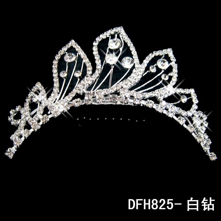 hot wholesale shine rhinestone wedding bride hearwear crown 11043 beautiful wings pattern(China (Mainland))