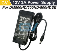 1pc Free shipping 12V 3A power supply for 800hd, 800se, 500hd