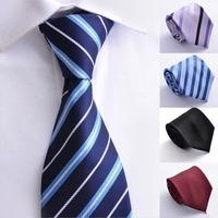 Polo Neck Ties Mens 2014 High-grade version men Professional business tie formal wear ties wedding tie for man Striped Necktie