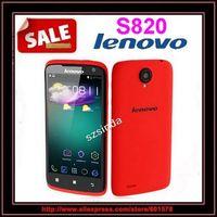 "In stock Lenovo S820 4.7"" IPS Android 4.2OS MTK6589 Quad-core RAM1GB+4GB ROM Dual sim WIFI GPS"