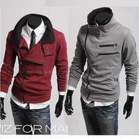 [M-166]2013 New men's Cotton Shirt Casual Slim Fit Stylish Dress Shirts polo shirt men