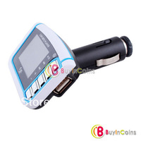 2013 New Car MP3 MP4 Player FM Transmitter LCD USB SD Remote YC-254 #31864