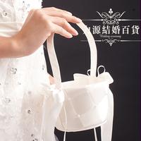 Fashion 2013 married wedding basket fashion small flower girl shower petal flower basket wedding supplies pregnantwith basket
