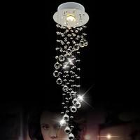 Free Shipping k9 modern crystal chandelier,D200*H800mm indoor lighting 110V/220V 3W LED