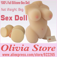 100% Full Medical Class Silicone Sex Doll,Weight 8kg,Super Soft Skin,No Odor,Discreet Packaging,Man's Masturbator,Sex Products