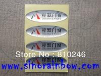 Custom epoxy dome sticker labels printing