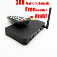 Free shipping  Arabic iptv.Smart Arabic TV,Dual core Arabic TV300HD arabic channels all latest movies with remote contral
