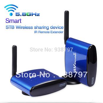 200M 5.8GHZ Wireless AV TV Audio Video Sender Transmitter Receiver IR Remoter