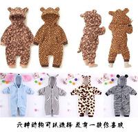 Baby autumn newborn clothes animal style design romper winter child sleepwear kids cotton romper premium quality Infant jumpsuit