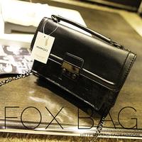 Women's bags 2013 autumn and winter women's handbag mango black fashion messenger bag messenger bag small shaping