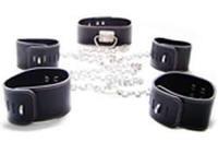 Fun toys hfmd lock genuine leather handcuffs lock female