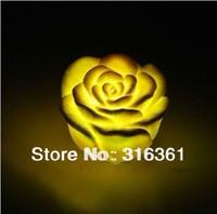 free shipping Romantic led rose light Rose Shape Waterproof LED Light gifts;