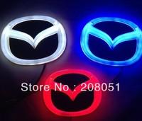 MAZDA CX-7 4D rear logo light LED cold light emblem led logo Car Sticker car badge