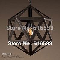 New 2014 American style pendant light restaurant lamp Industrial vintage iron art decoration lamp d8152