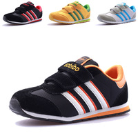 Free shipping Spring and autumn child sport shoes running shoes light breathable casual shoes male shoes girls 614