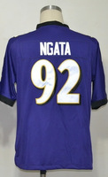 Free Shipping cheap jerseys#92 Haloti Ngata Men's Game Team Purple Football Jersey