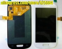 Free shipping new original for SamsungI8190 I9300mini version screen touch screen LCD screen assembly wholesale and retail